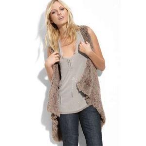 Kensie Outerwear - KENSIE Shaggy Vest