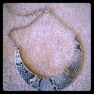 SNAKESKIN NECKLACE