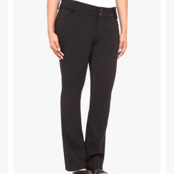 2915ad3609c Torrid-Noir Collection All-Nighter Pant. Slim Boot.  M 5485e5bb93c636058400ab40