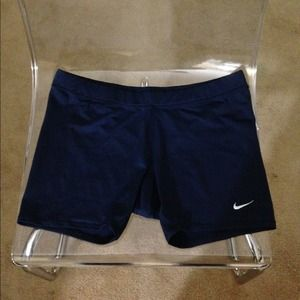 🚫SOLD IN BUNDLE 🚫 NWOT Nike navy blue spandex