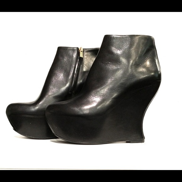 9a90cd3454a Yves Saint Laurent Shoes   Ysl Studio 75 Platform Wedge Boots   Poshmark