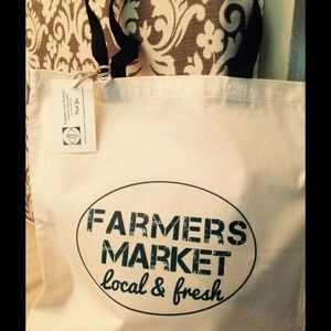 Handbags - Farmers maker tote  SALE!! Only $8