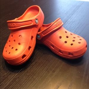 Crocs 🎉sale🎉crocs Maryjane Pink And Orange From Xochitl