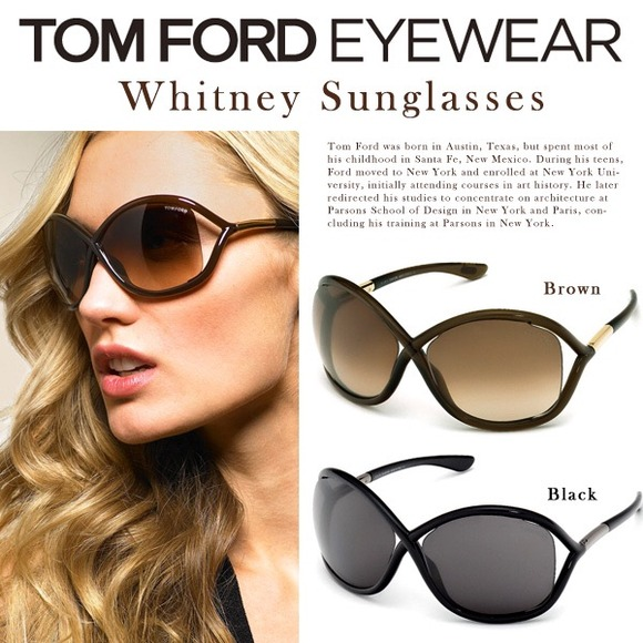 5a47b0e5c7 Authentic Tom Ford Whitney Sunglasses Brown 64mm. M 5486289bfbd594053002a599
