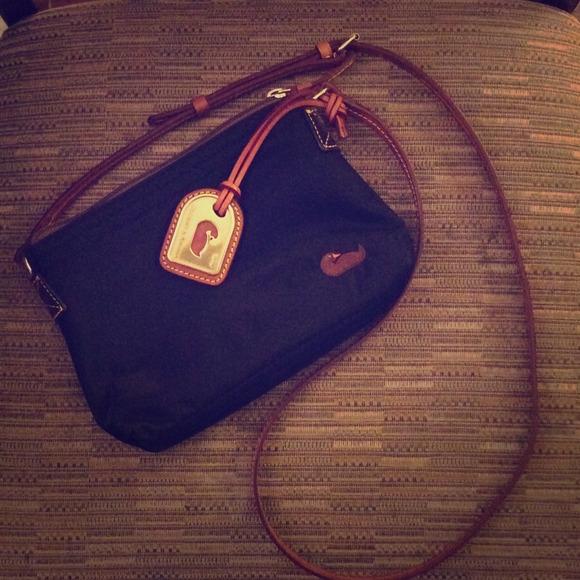 529a7b8ae Dooney & Bourke Handbags - Dooney & Bourke Nylon Crossbody Pouchette
