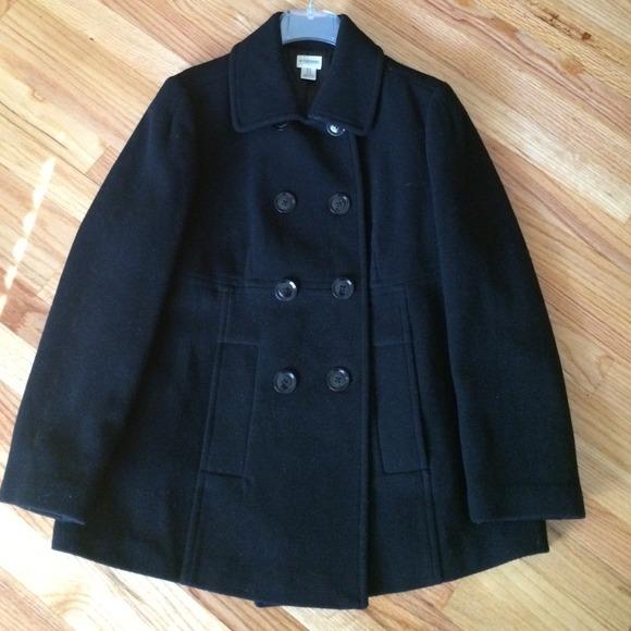 00438663c011c Motherhood Maternity Jackets & Coats | Black Pea Coat | Poshmark