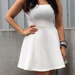 H m white dress h and m