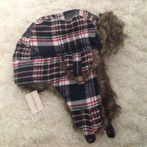 Winter bomber hat