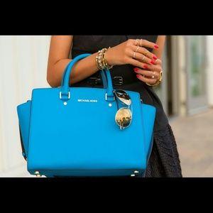 2ba8459dbe9b Michael Kors Bags - Turquoise Michael Kors bag