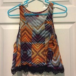 cute pattern top