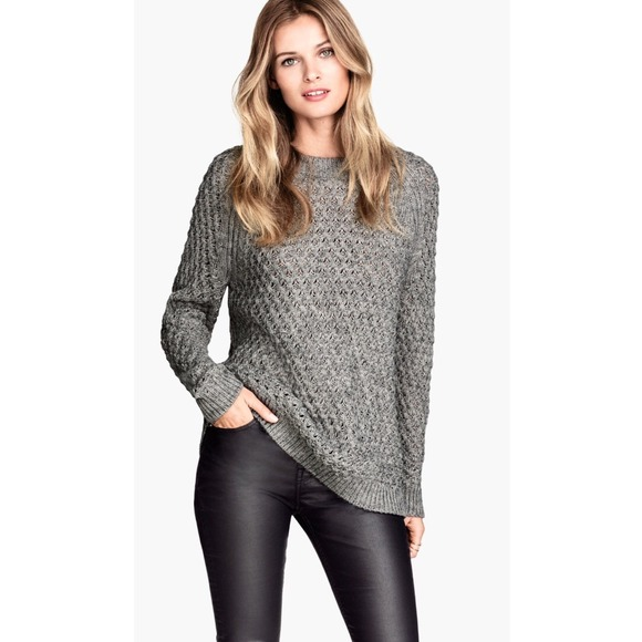 H&M Sweaters - Gray Knit Sweater