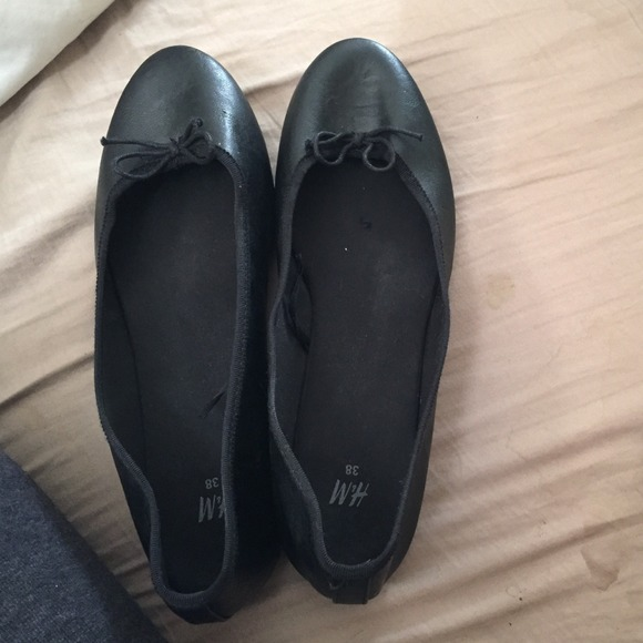 H\u0026M Shoes | Black Flats From H And M