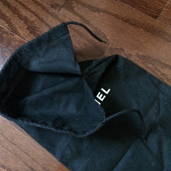 chanel chanel small dust bag authentic from never
