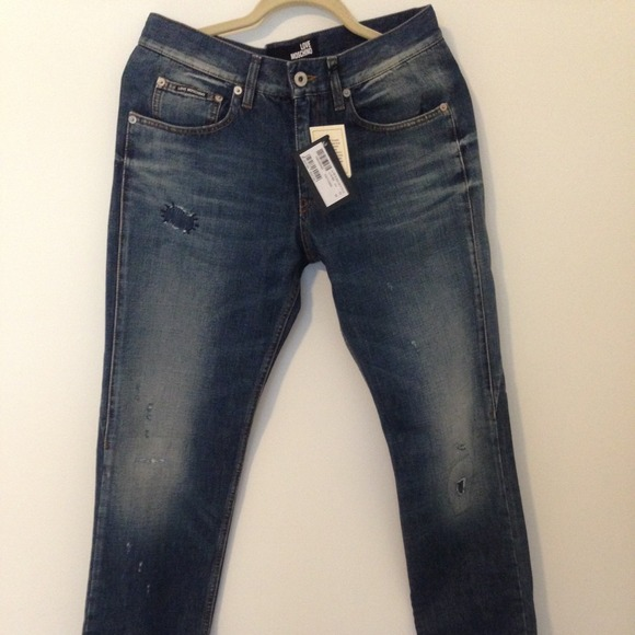 9bc30a75eb Love Moschino Men's jeans NWT