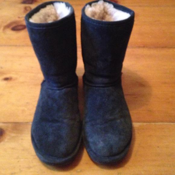 Price Navy Blue Bearpaw Boots