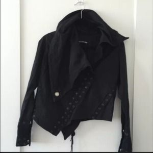 Anthropologie Religion Rocker Motorcycle Jacket S