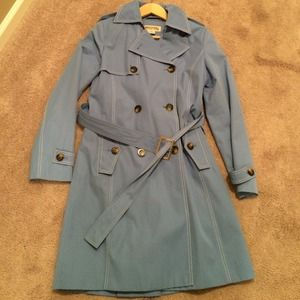 Michael Michael Kors blue raincoat