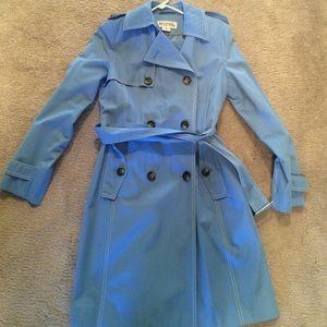 Michael Michael Kors blue raincoat