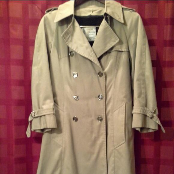 London Fog Jackets Amp Coats Vintage Classic Trench Coat
