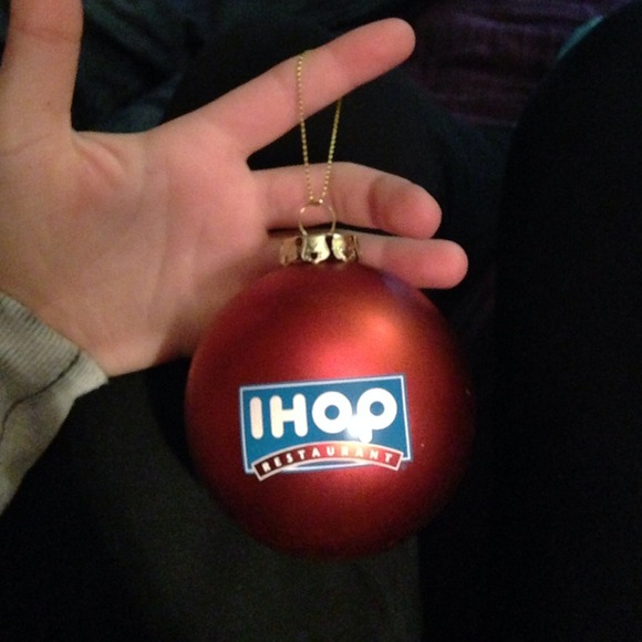 ihop christmas ornament