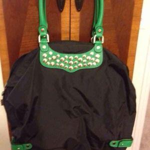 Rebecca Minkoff Nylon Studded Tote Bag