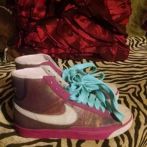 Colorful Nike high top Sneakers