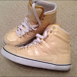 K-swiss Shoes - K SWISS yellow sneakers 5.5