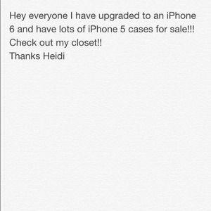 Check out my closet for iPhone 5 cases!