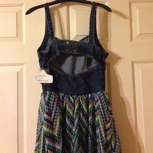 fb64f31bf4 Angie Dresses - NWT Angie denim bustier dress
