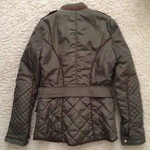 67076820 Zara Jackets & Coats - Zara Khaki Green Military Field Utility Jacket
