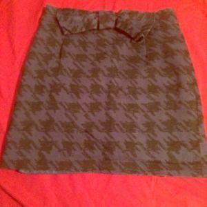 So Chic!  High Waisted Mini Skirt