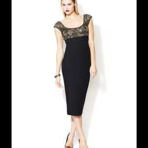 L'Wren Scott Dresses & Skirts - L'wren Scott Embellished Wool Dress