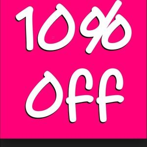 Other - 10% today  only ! Happy shopping
