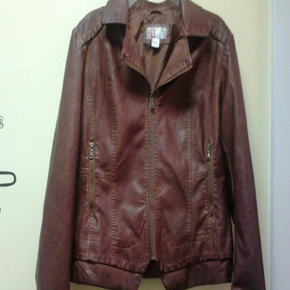 Bernardo faux leather jacket