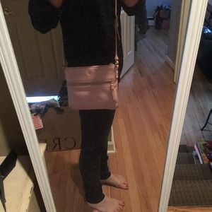 Kate spade cobble hill Crossbody light pink!