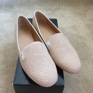 J.Crew Factory Addie Studded Loafers