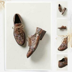 Anthropologie Shoes - IOS Embroidered Molina Oxfords