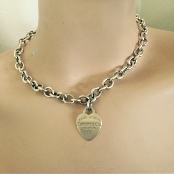 Tiffany Amp Co Jewelry 925 Silver Vintage Tiffany Necklace