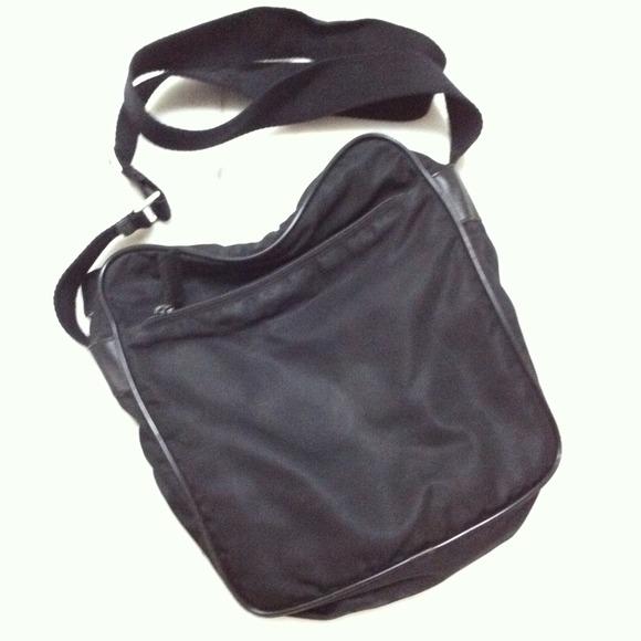 Prada Bags   Sport Nylon Messenger Bag   Poshmark 2dddbb7b04
