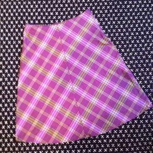 Dresses & Skirts - Plaid a-line skirt! Make an offer!