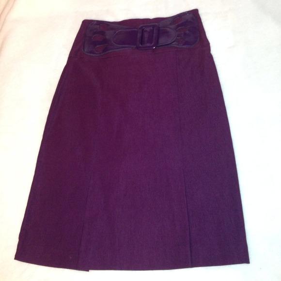 plum pencil skirt s from shannon s closet on poshmark