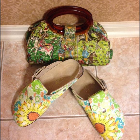 58cce2b0fd16 Birkenstock Shoes - Birki s Sunflower Clog Shoe Sz8