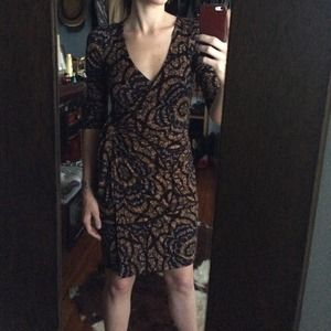 Anthropologie wrap dress
