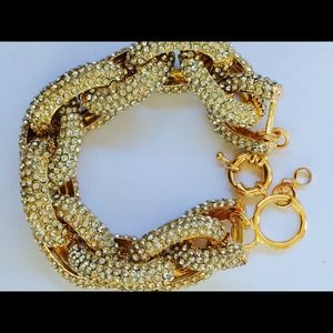 Jewelry - Pave link statement bracelet