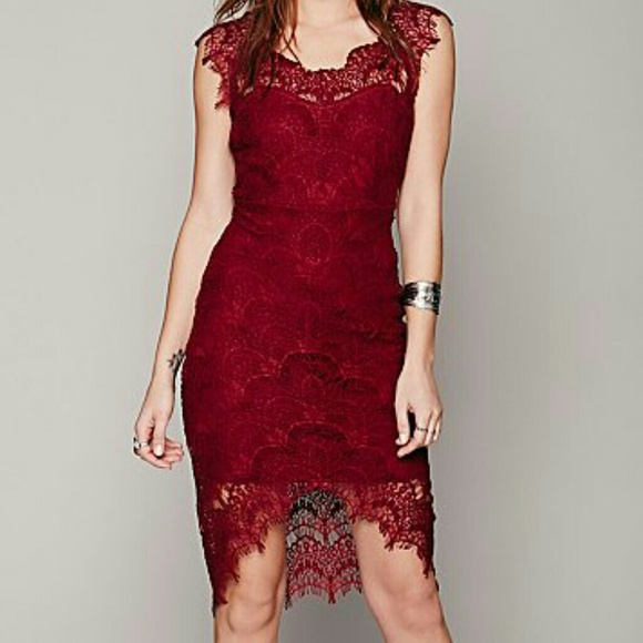 29% off Free People Dresses & Skirts - Free People Peekaboo lace ...