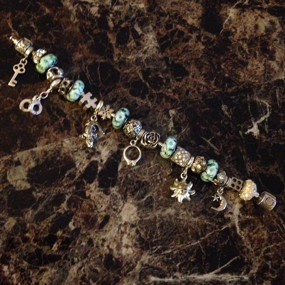 Persona Charm Bracelet: *Persona Bead Bracelet From