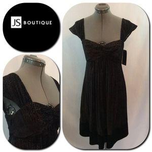 JS Boutique Dresses & Skirts - 💥 JS Boutique💕Short Black Beauty Evening Dress💕