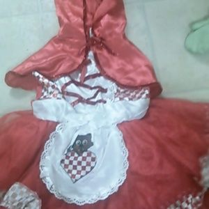 Other - toddler little red riding hood costume