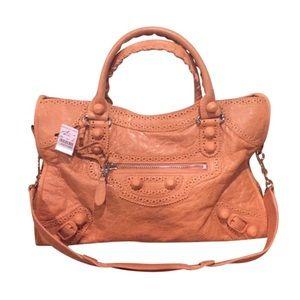 Balenciaga Handbags - NWT $2045 BALENCIAGA BROGUES CITY DESIGNER BAG