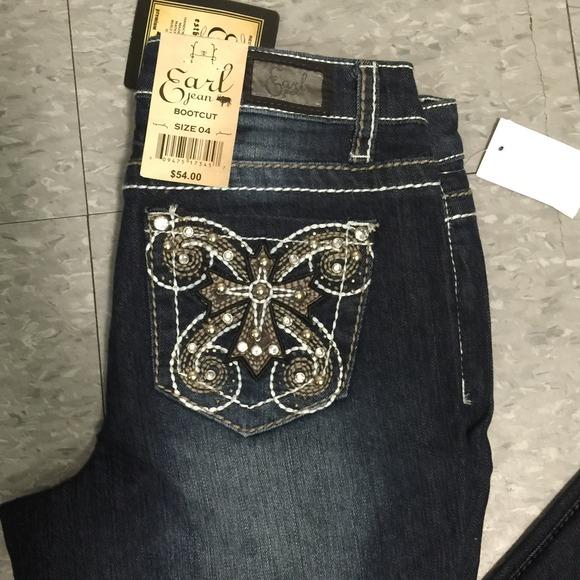 DENIM - Denim trousers Earl Jean T83KGy8JN